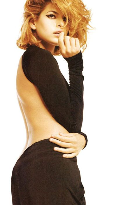 Eva Mendes Vogue'a soyundu - 59